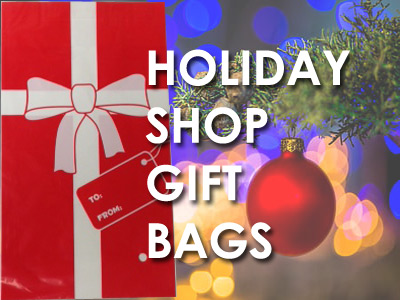 Holiday Shop Gift Bags for School Gift Shop Wrapping