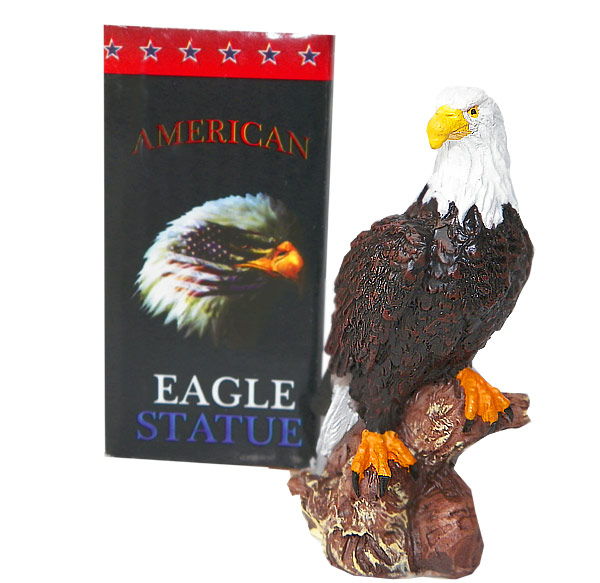3 Inch American Eagle Statue - Gifts For Everyone Else - Holiday Gifts Mart