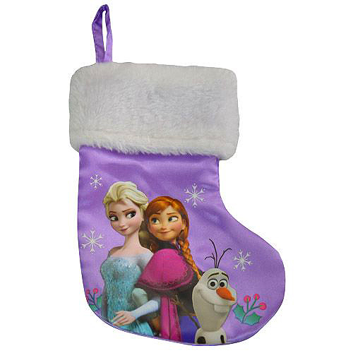 7 Inch Disney Frozen Elsa Stocking - Christmas - Holiday Gifts - Holiday Gifts Mart