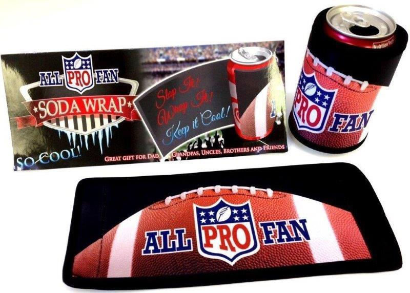 All Pro Fan Soda Wrap - Gifts For Men - Holiday Gifts Mart