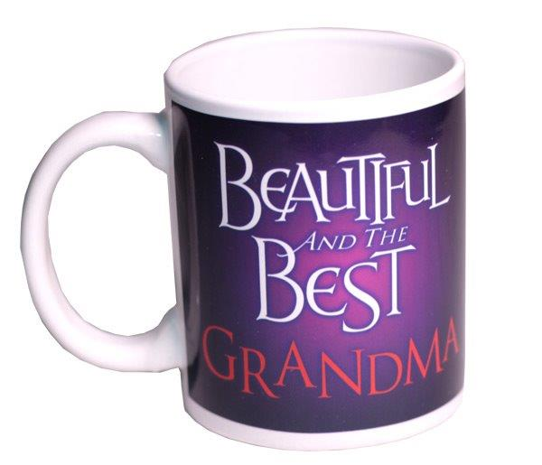 Beautiful and Best Grandma Mug - Grandma Gifts - Holiday Gifts Mart