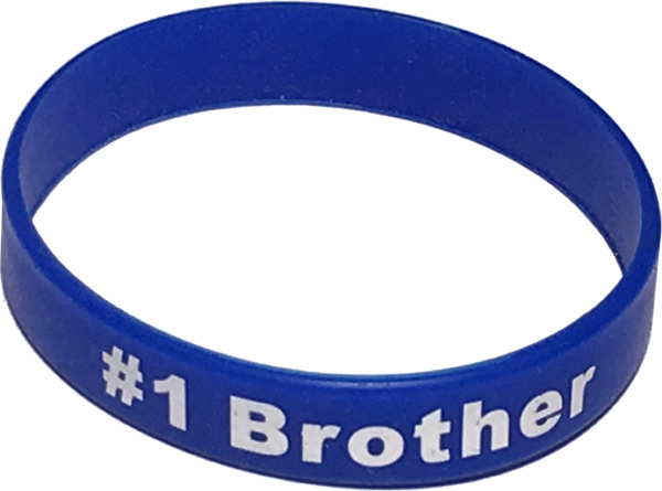 Best Brother Band Bracelet - Brother Gifts - Holiday Gifts Mart