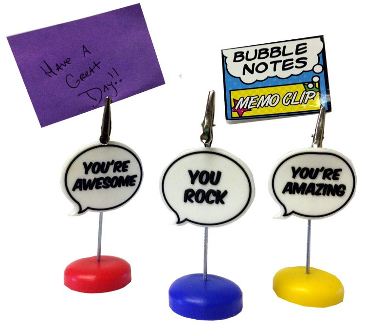 Bubble Notes Memo Clip - Gifts For Everyone Else - Holiday Gifts Mart