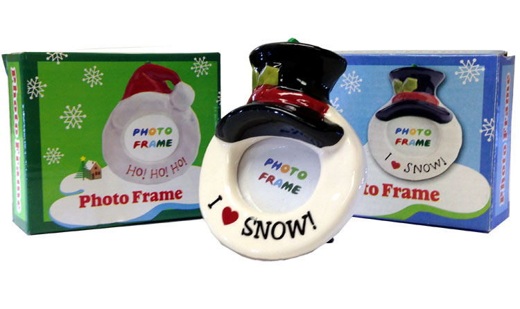 Holiday Photo Frame - Christmas - Holiday Gifts - Holiday Gifts Mart