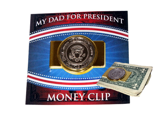 My Dad for President Money Clip - Dad Gifts - Holiday Gifts Mart