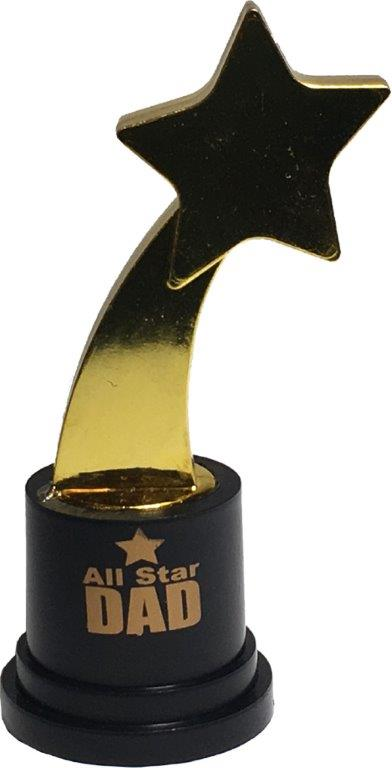 All Star Dad Gold Trophy - Dad Gifts - Holiday Gifts Mart