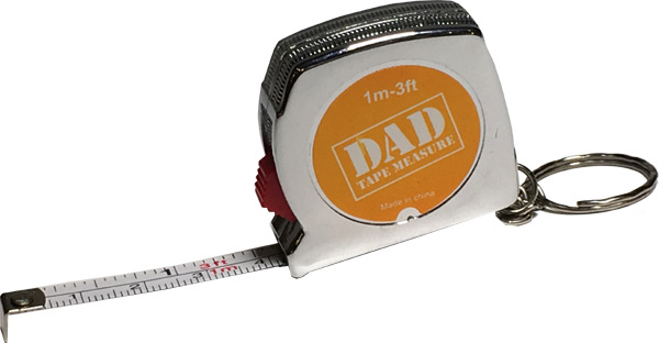 Dad Tape Measure Key Chain - Dad Gifts - Holiday Gifts Mart