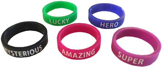 Finger Power Ring Bands - Gifts For Boys & Girls - Holiday Gifts Mart