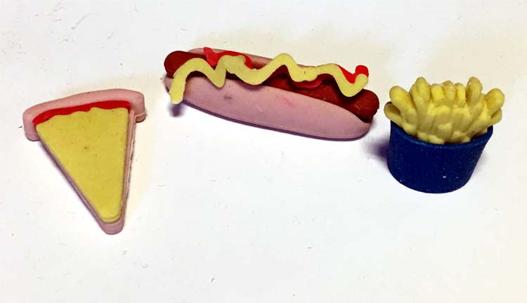 Fast Food Puzzle Eraser - Gifts For Boys & Girls - Holiday Gifts Mart