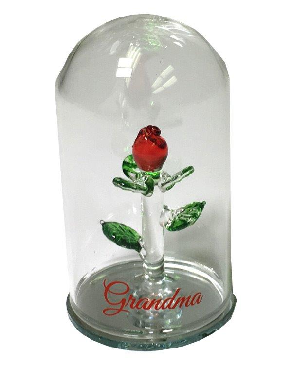 Grandma Rose Dome - Grandma Gifts - Holiday Gifts Mart