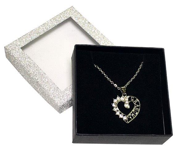 Grandma Necklace in Silver Box - Grandma Gifts - Holiday Gifts Mart
