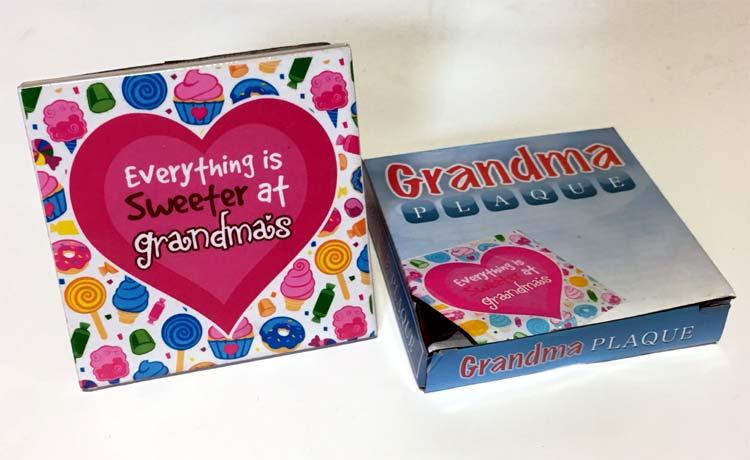 Grandma Plaque - Grandma Gifts - Holiday Gifts Mart