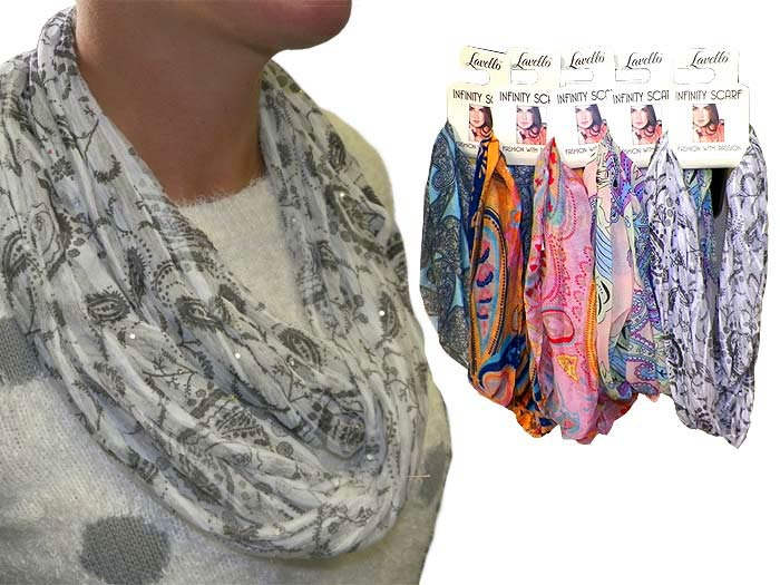 Infinity Fashion Scarf - Gifts For Women - Holiday Gifts Mart
