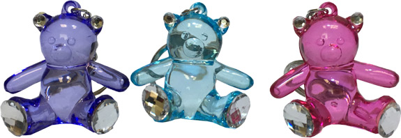 Crystal Like Bear Keychain - Gifts For Boys & Girls - Holiday Gifts Mart