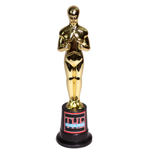 Man of The Year Trophy - Dad Gifts - Holiday Gifts Mart