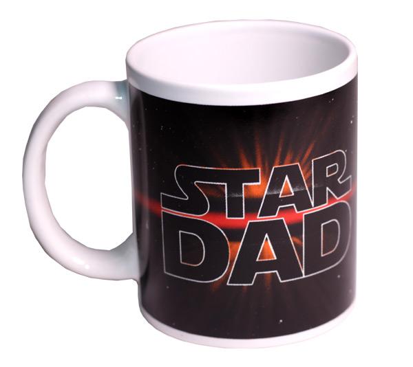 Star Dad Mug - Dad Gifts - Holiday Gifts Mart