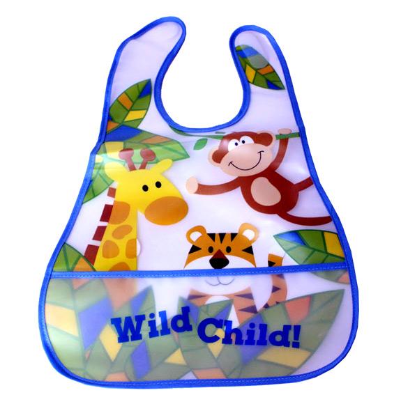 Wild Kid Pocket Baby Bib - Baby Gifts - Holiday Gifts Mart