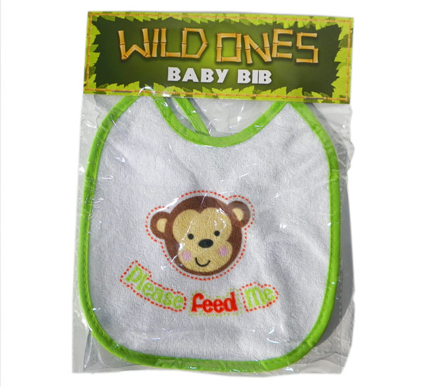 Wild Ones Baby Bib - Baby Gifts - Holiday Gifts Mart