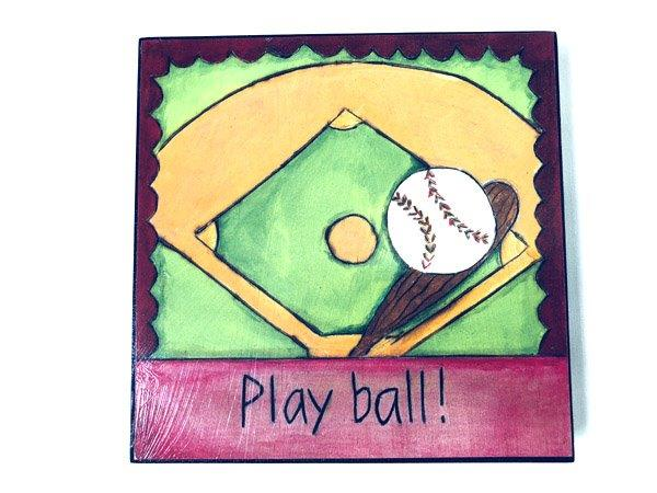 Inspirational Baseball Plaque - Gifts For Men - Holiday Gifts Mart