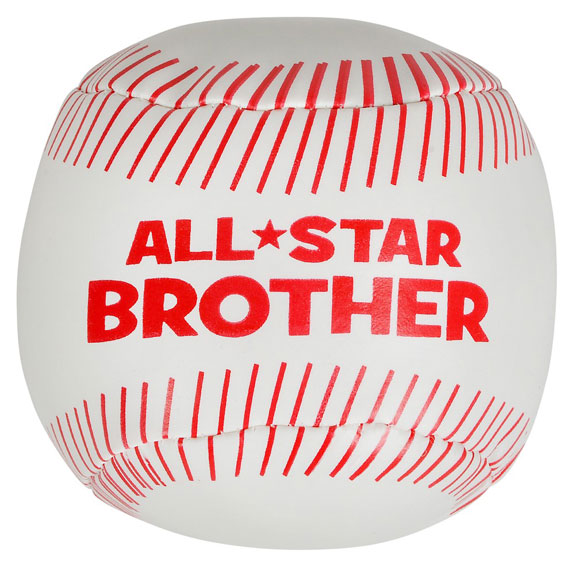 All Star Brother Soft Baseball - Brother Gifts - Holiday Gifts Mart