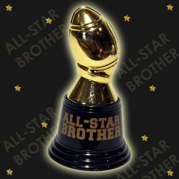 All-Star Brother Football Trophy