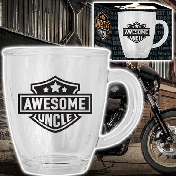 Awesome Uncle Glass Mug