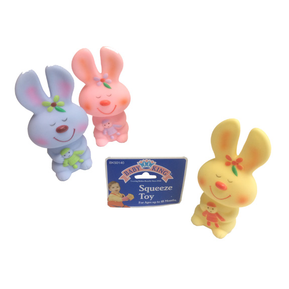 Bunny Squeeze Baby Toy - Baby Gifts - Holiday Gifts Mart