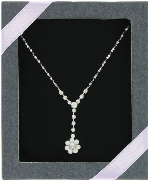 Bling Drop Necklace - Jewelry Gifts - Holiday Gifts Mart
