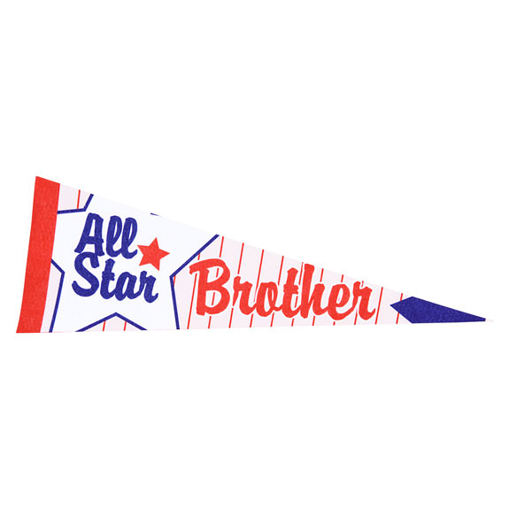 BROTHER PENNANT - Brother Gifts - Holiday Gifts Mart