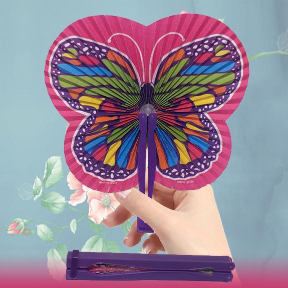 Butterfly Folding Fan