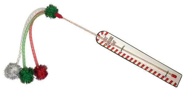 Cat Teaser Wand Toy - Pets Gifts - Holiday Gifts Mart