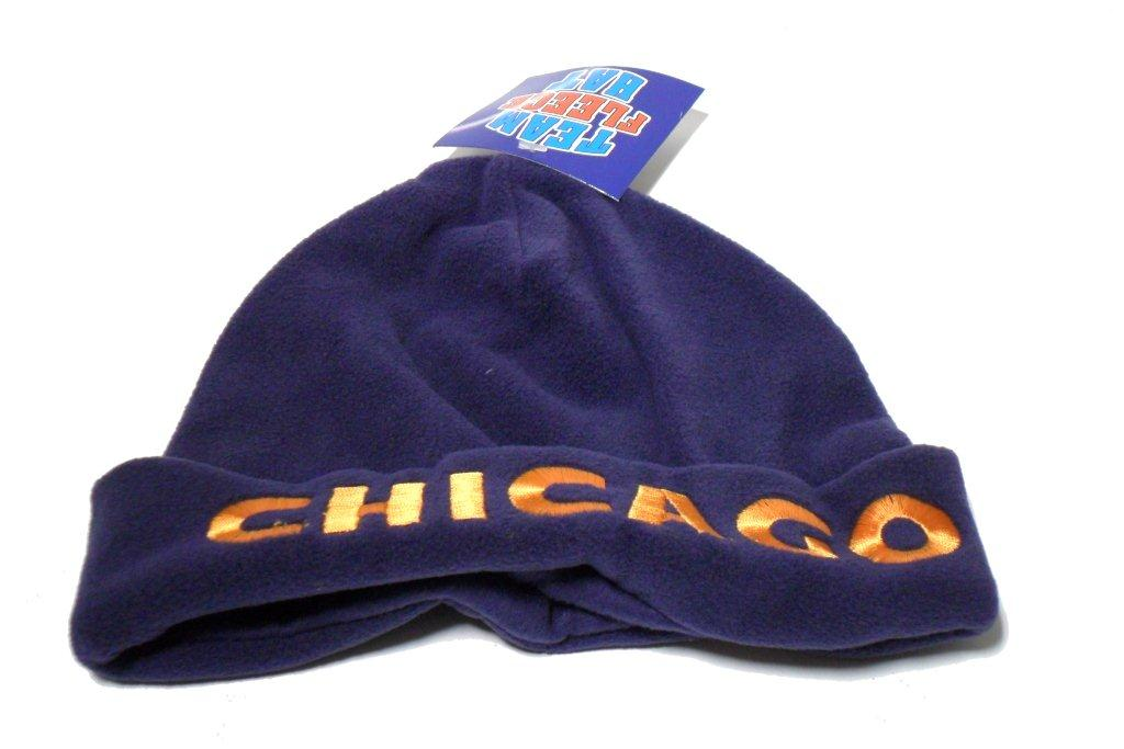 Chicago Team Fleece Hat - Sports Team Logo Gifts - Holiday Gifts Mart