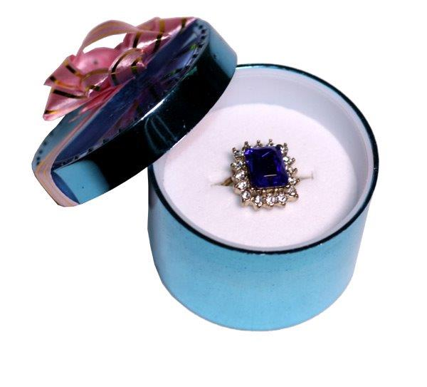 Cocktail Fashion Ring In Gift Box - Jewelry Gifts - Holiday Gifts Mart