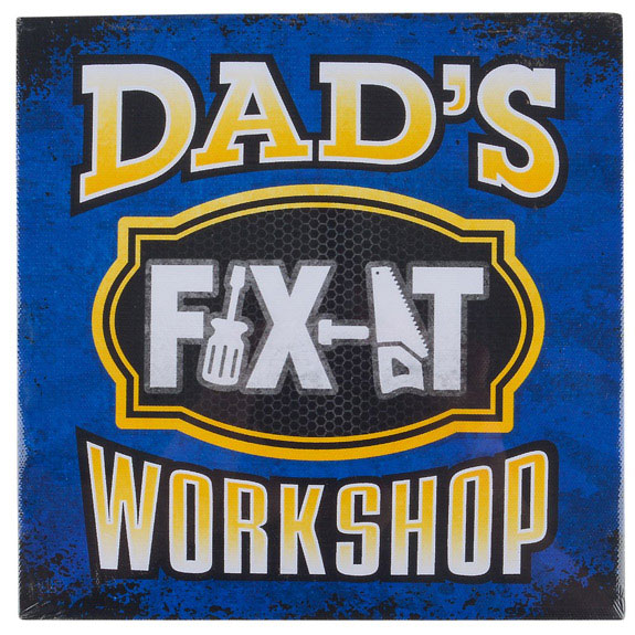Dad Fix It Sign - Dad Gifts - Holiday Gifts Mart