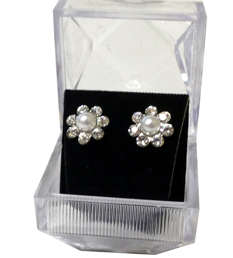 Diamond Cluster Fashion Earrings - Jewelry Gifts - Holiday Gifts Mart