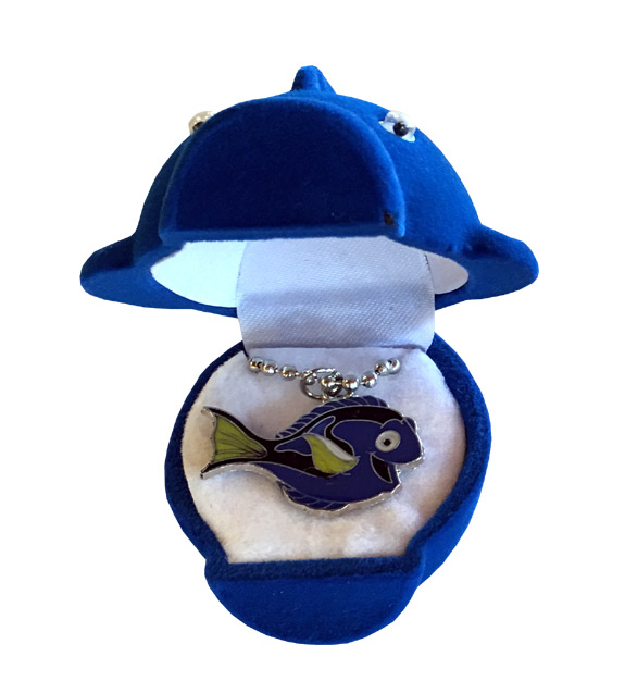 Dory Sea Life Necklace - Matching Box - Jewelry Gifts - Holiday Gifts Mart