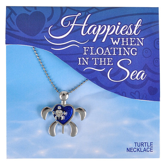 Turtle Necklace - Jewelry Gifts - Holiday Gifts Mart