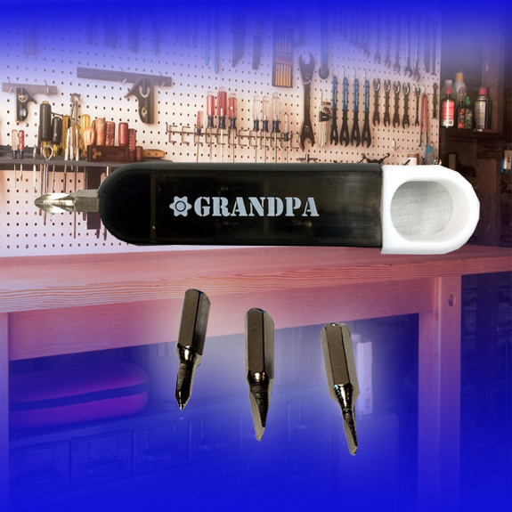 Grandpa Screwdriver Set Black