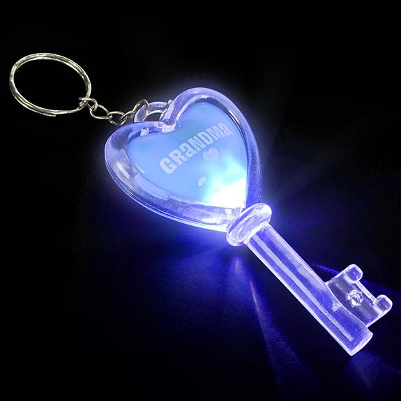 Grandma Flashing Key Chain - Grandma Gifts - Holiday Gifts Mart