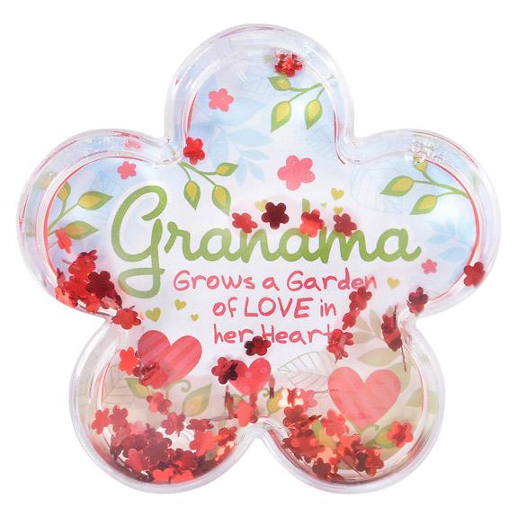 Grandma Water Globe Frame - Grandma Gifts - Holiday Gifts Mart