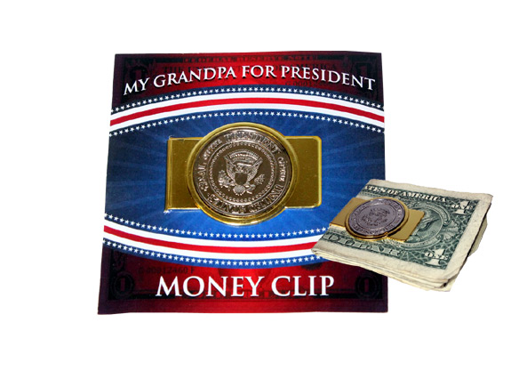 My Grandpa for President Money Clip - Grandpa Gifts - Holiday Gifts Mart