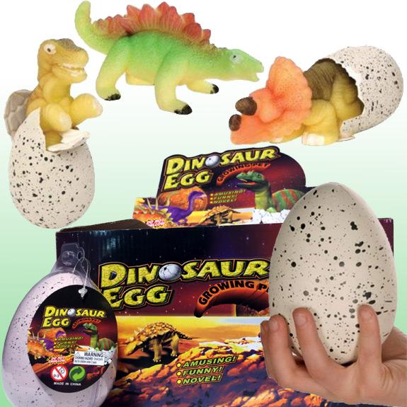 Dinosaur Egg Growing Pet