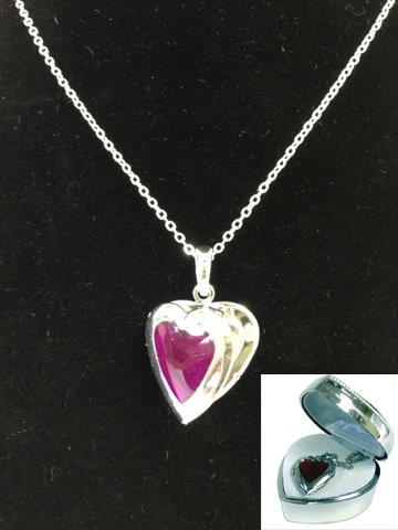Heart Locket (in heart case) - Jewelry Gifts - Holiday Gifts Mart
