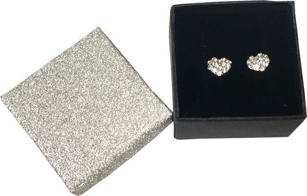 Crystal Heart Earrings In Gift Box - Jewelry Gifts - Holiday Gifts Mart