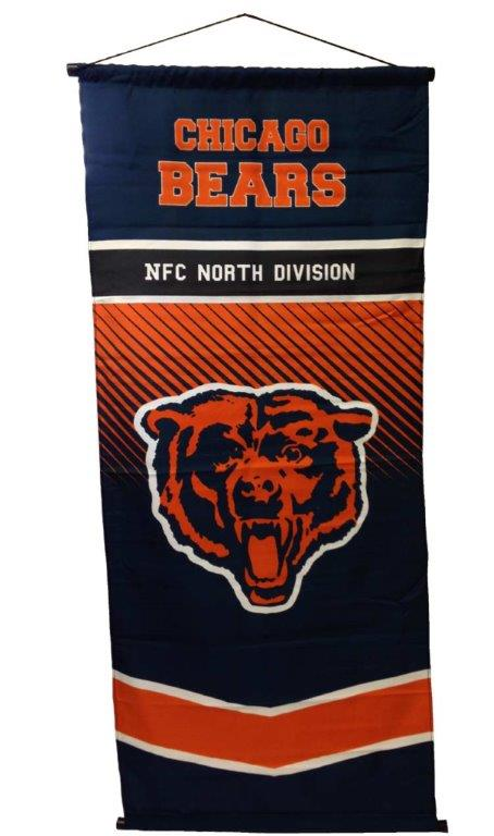 Chicago Bears NFL Team Banner - Sports Team Logo Gifts - Holiday Gifts Mart