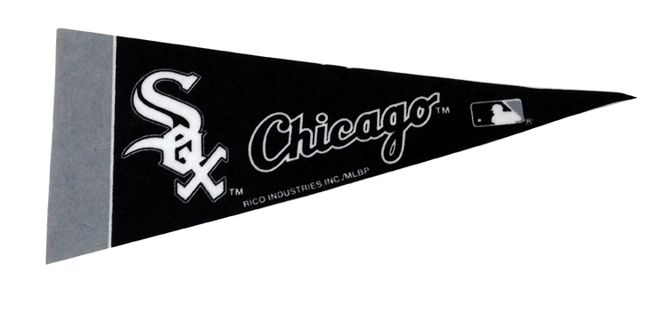 Chicago White Sox - Team Pennant - Sports Team Logo Gifts - Holiday Gifts Mart