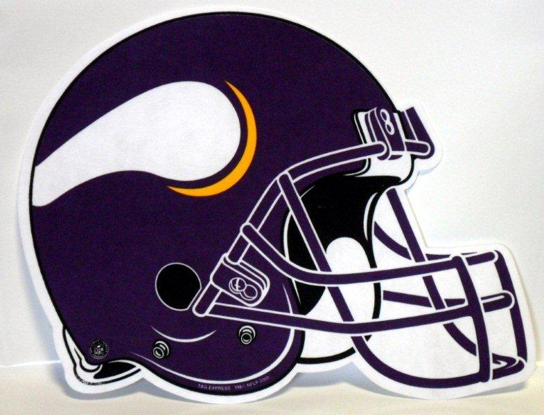 Minnesota Vikings Helmet Pennant - Sports Team Logo Gifts - Holiday Gifts Mart