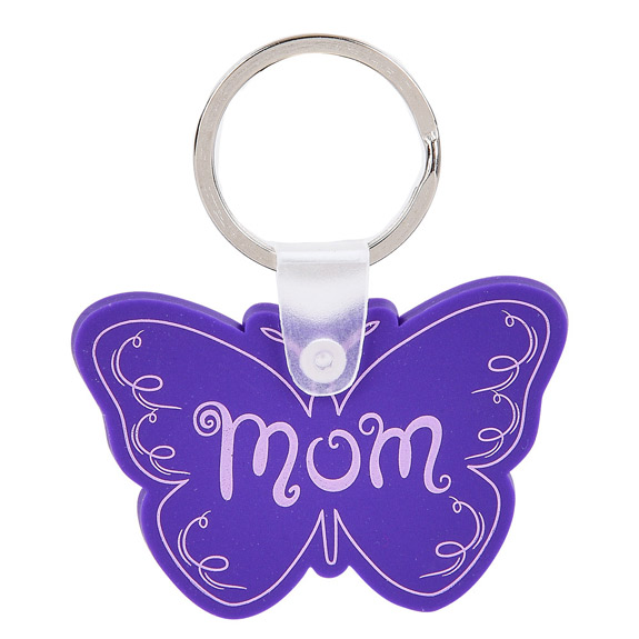 MOM BUTTERFLY KEYCHAIN - Mom Gifts - Holiday Gifts Mart