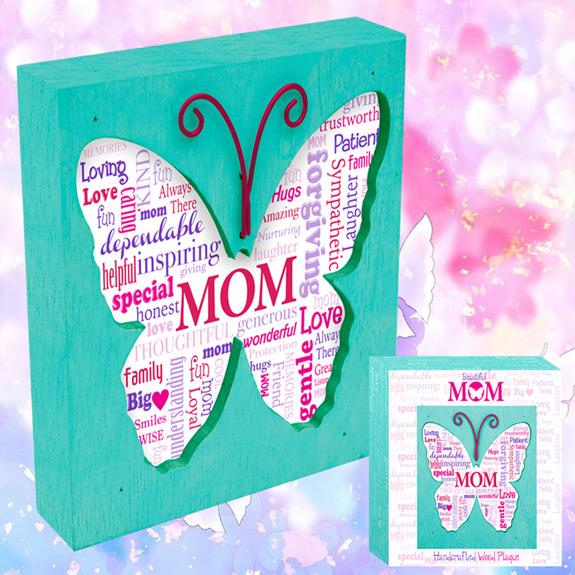 Beautiful Mom Wood Plaque