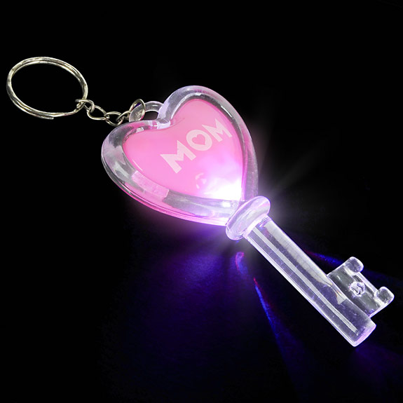 Mom Flashing Key Chain - Mom Gifts - Holiday Gifts Mart